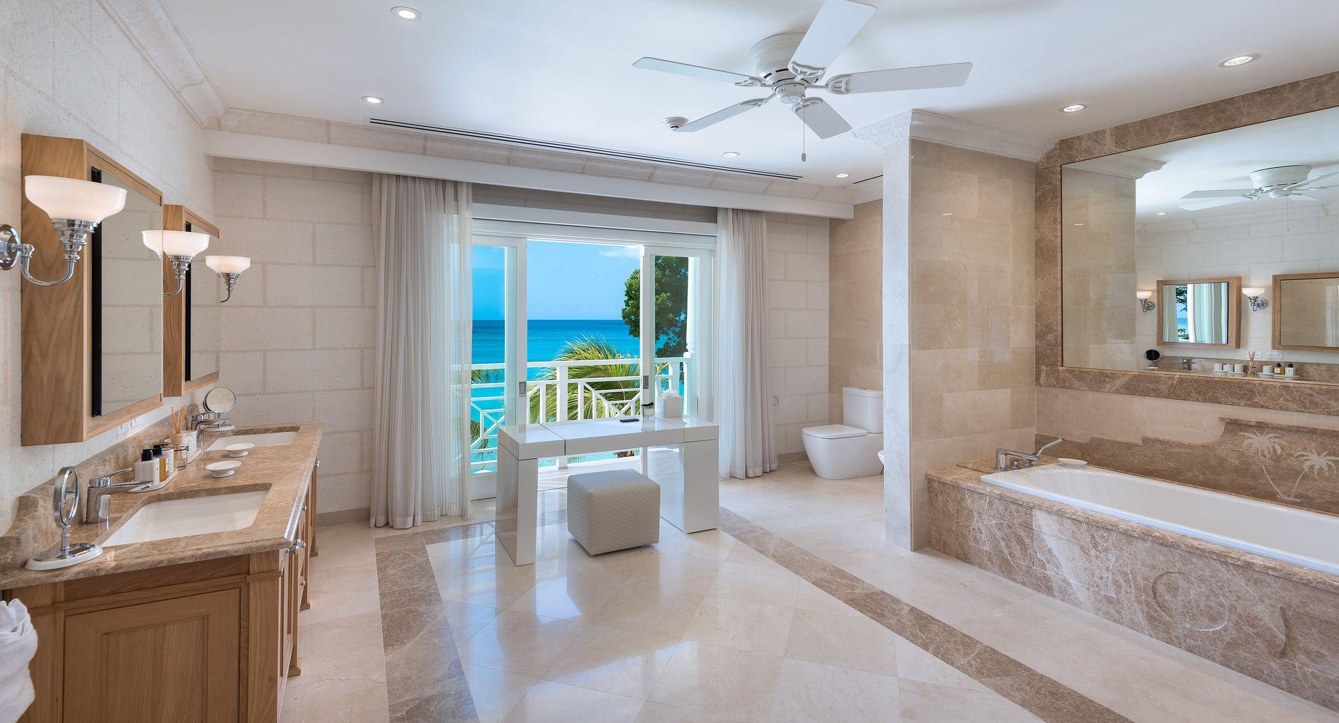 Luxury Barbados beach villa