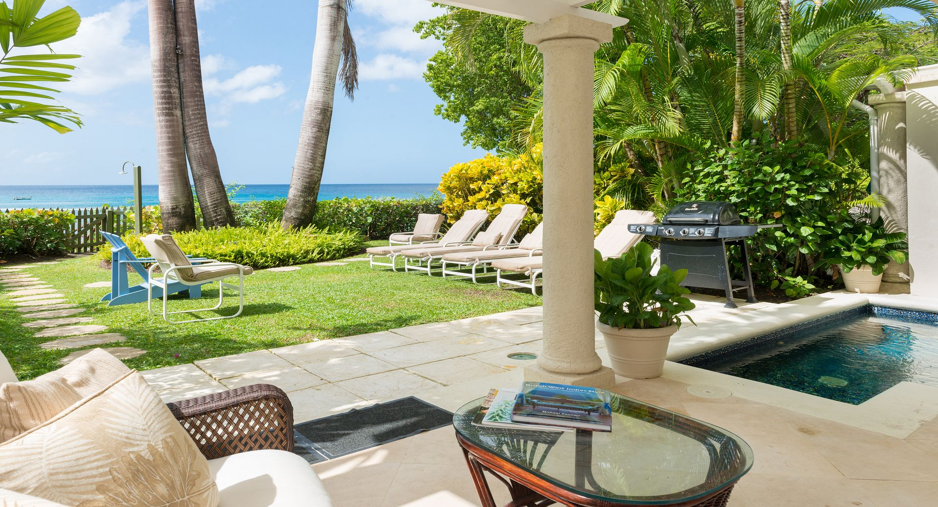 Barbados beachfront