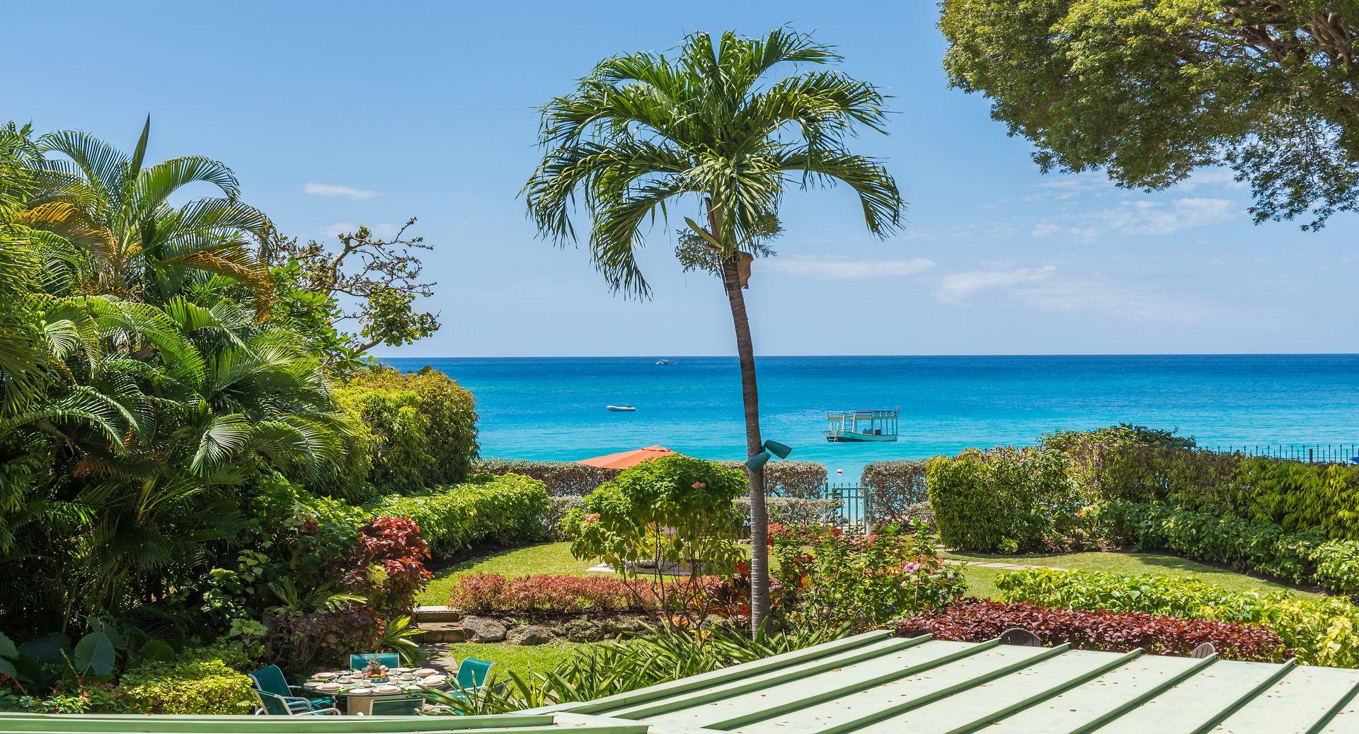 Barbados beachfront villa